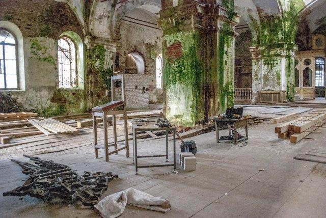 Восстановление храма в село Раевское Тверская область