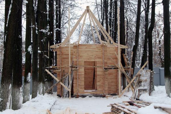 Строительство храма город Кольчугино Владимирская область