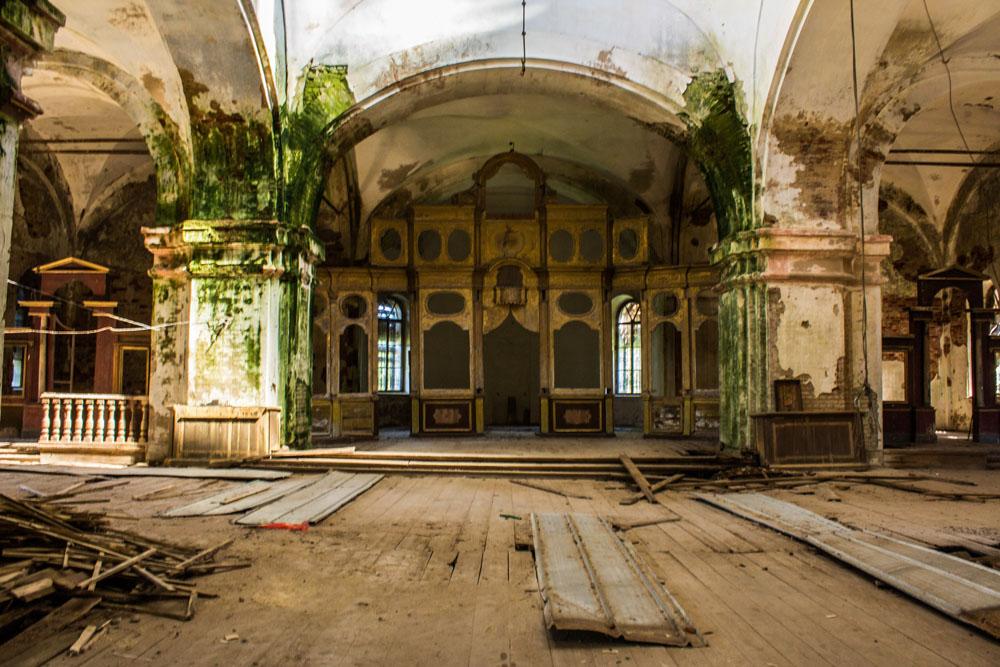 восстановление храма Раевское Тверская область