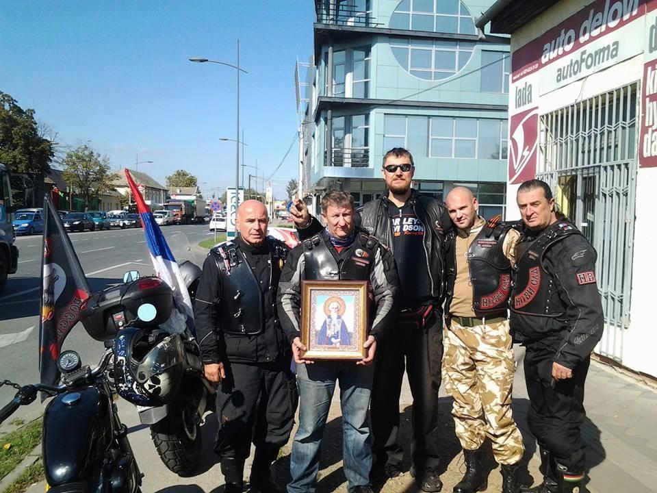Православный мотопробег Балканы 2014